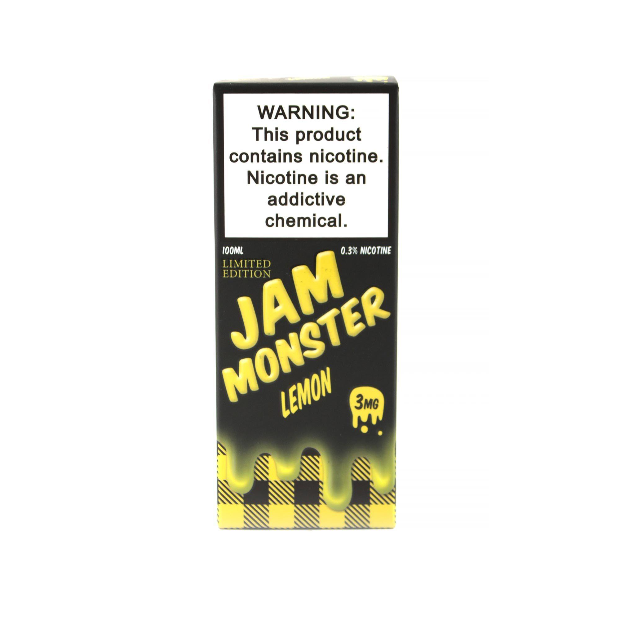 Жидкость Jam Monster Lemon