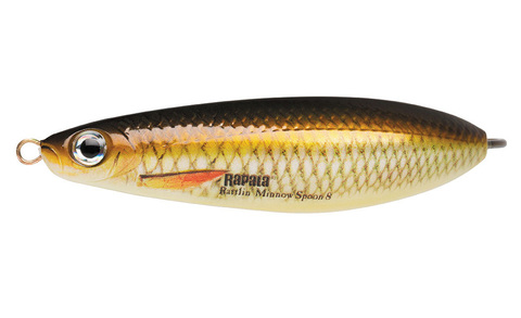 Незацепляйка RAPALA Rattlin' Minnow Spoon 8 см, цвет JP