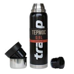 Термос Tramp 0,9 л, черный - 2