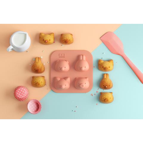 Силиконовая форма MB Silifriends 2 шт. для конфет и выпечки кексов