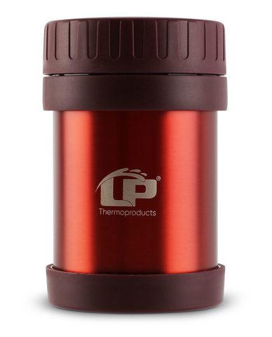 Термос для еды LP JMG (0,35 литра), красный