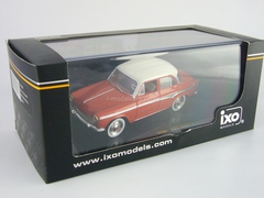 Simca Aronde P60 Monthery white and red 1959 IXO 1:43