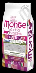 Корм для кошек с чувствительным пищеварением Monge Cat Sensitive