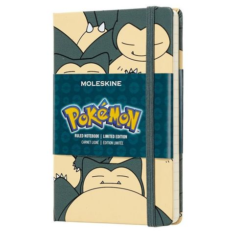 Блокнот Moleskine Limited Edition POKEMON LEPOMM710SL Pocket 90x140мм 192стр. нелинованный Snorlax