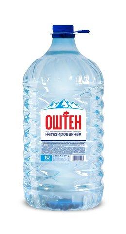 Вода Оштен питьевая негазированная 10л.