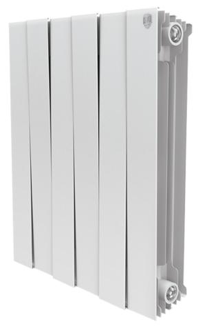 RoyalThermo PianoForte 500 Bianco Traffico, 4 секции - радиатор биметаллический