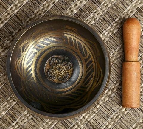 Поющая чаша Ваджра, диаметр 12,5 см