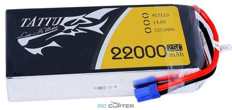 АКБ Gens Ace TATTU 22000mAh 4S1P 25C 14.8V Lipo Battery Pack
