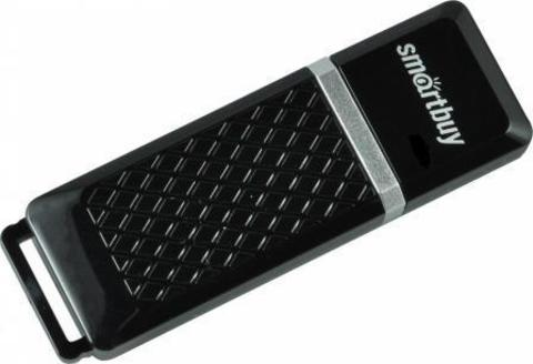 Флеш-накопитель USB  32GB  Smart Buy Quartz черный