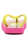 Шлепанцы Монстер Хай (Monster High) пляжные сланцы для девочек, цвет розовый желтый. Изображение 6 из 8.