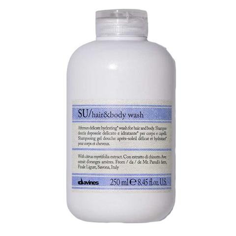 Davines SU: Шампунь для волос и тела после солнца (SU Hair & Body Wash), 250мл