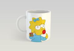 Кружка с рисунком из мультфильма Симпсоны (The Simpsons) белая 0011