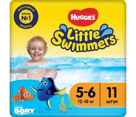 Huggies трусики для плавания Swimmers 12-18 кг