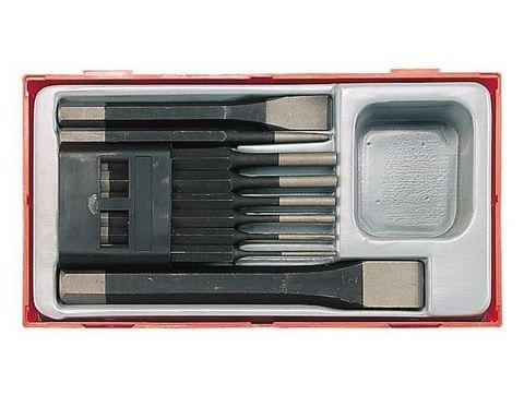 Набор выколоток зубил кернера Teng Tools TTPC09