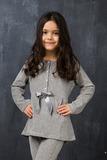 Велюровый домашний костюм для девочек Story Loris