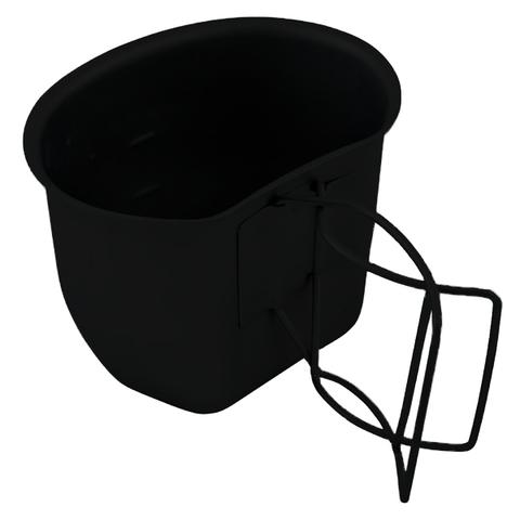 BCB Campingbecher Crusader Cup Canteen schwarz
