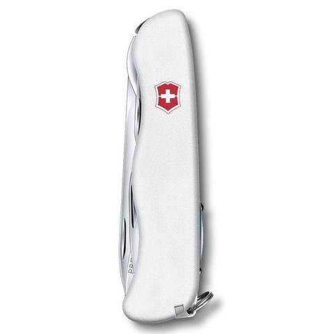 Нож перочинный Victorinox Picknicker (0.8353.7R) 111мм 11функций белый