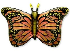F Бабочка крылья оранжевые, 22