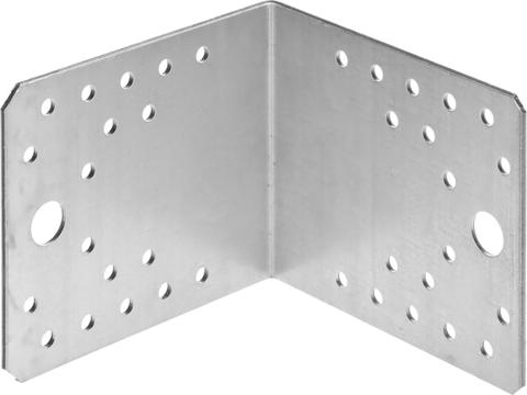 Уголок крепежный УК-2.0, 90х105х105 х 2мм, ЗУБР
