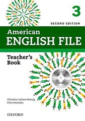 AM ENGLISH FILE  2ED 3 TB+TEST&AS.CD-ROM