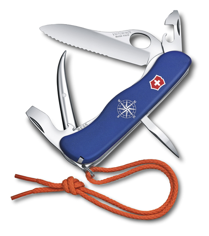 Нож Victorinox Skipper Pro, 111 мм, 12 функций, синий123