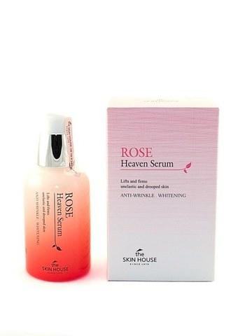Сыворотка для лица с экстрактом розы, 50ml, The Skin House Rose Heaven Serum