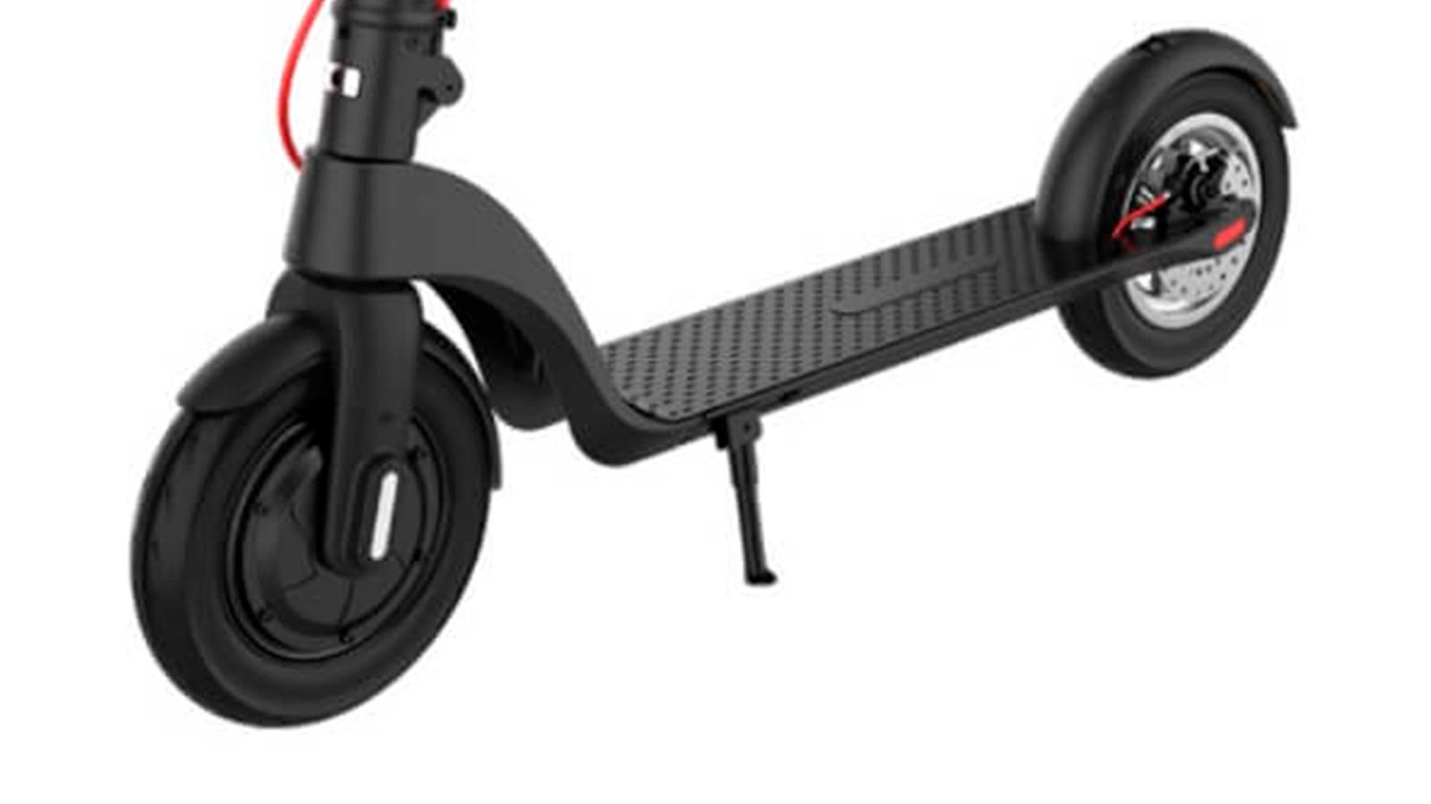 дека и переднее колесо электросамоката Kugoo HX Pro
