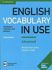 English Vocabulary in Use: Advanced Book (3rd Edition) with answers and Enhanced eBook