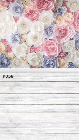 Фотофон виниловый «Много роз» №058