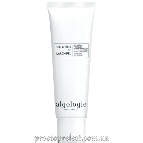Algologie Hydro-Matifying Purifying Gel-Cream - Зволожуючий матуючий крем-гель