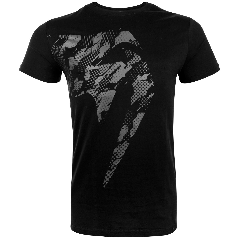 Футболки Футболка Venum Tecmo Giant T-shirt - Black/Grey 1.jpg