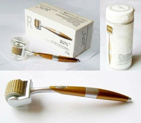 Мезороллер ZGTS Gold с лазерной заточкой для лица