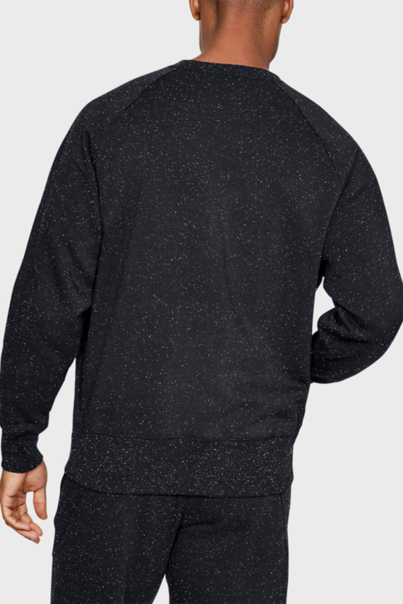 Мужской черный свитшот SPECKLED FLEECE CREW Under Armour