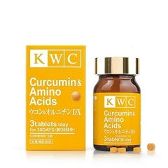 Куркумин и Аминокислоты, KWC, 90 таблеток