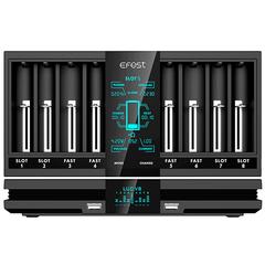 Быстрое зарядное устройство Efest LUC V8 для Li-ion, NiMH аккумуляторов