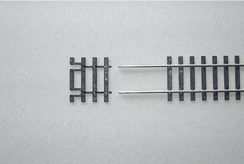 Окончание для гибкого рельса (флекса) - 31мм