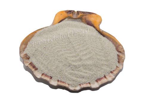 Белый кварцевый песок 1 кг.