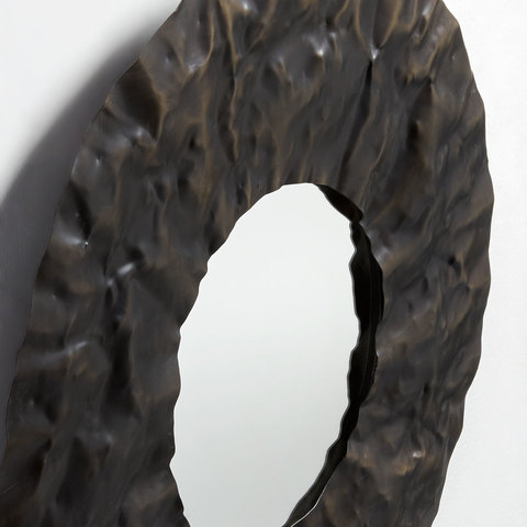 Зеркало Karlo латунное