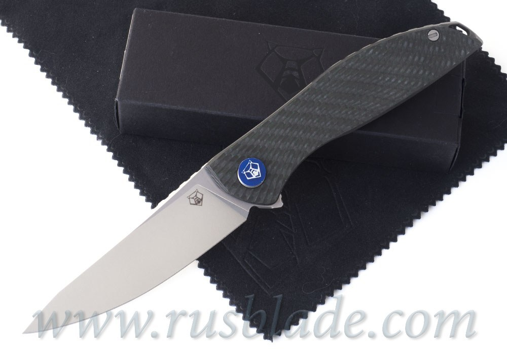 Shirogorov 2020 HatiOn Zero M390 GREEN CARBON FIBER MRBS