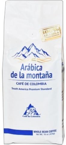 Кофе Arabica de la Montana зерно 454 гр.