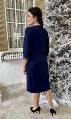 Олівія. Оригінальне нарядне жіноче плаття. Синій