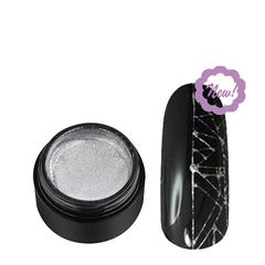 Soline Charms, Гель-краска паутинка, серебро, 5 гр