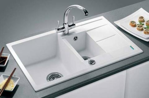 Мойка кухонная Blanco Metra 6S Compact Белый