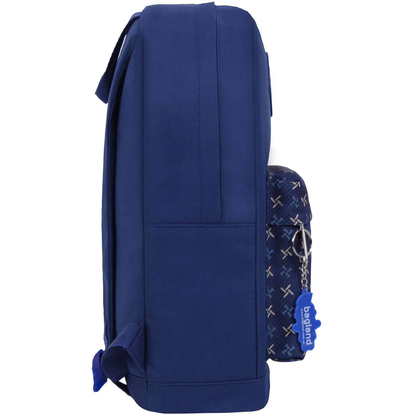 Рюкзак Bagland Молодежный W/R 17 л. Синий 463 (00533662) фото 2