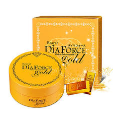 Патчи для глаз Rearar DiaForce  Hydro-Gel eye patch M Gold 84g