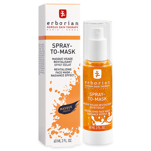 Erborian Спрей-маска тонизирующая гидрогелевая Spray-To-Mask Revitalizing Face Mask Radiance Effect