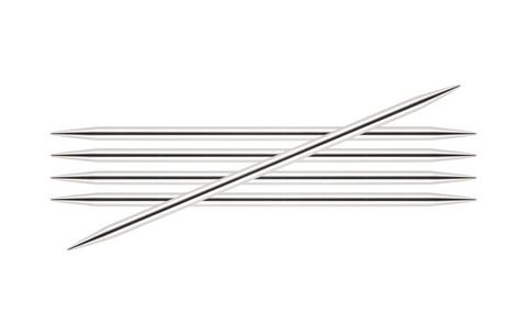 Спицы KnitPro Nova Metal чулочные 4,5 мм/20 см 10110