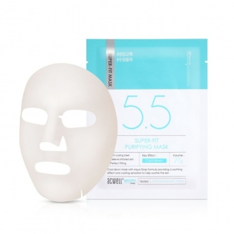 Купить ACWELL Super-Fit Purifying Mask - Охлаждающая увлажняющая маска