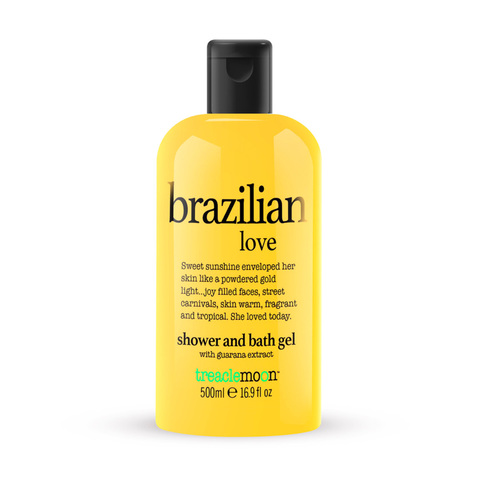 TREACLEMOON   Гель для душа «Бразильская любовь»/ Brazilian love bath & shower gel, (225 мл)