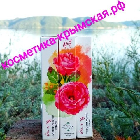 Ароматическое масло «Роза» в виде спрея™Никитский Сад